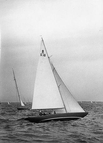 Tore Holm - 8 Metre-yacht Ilderim