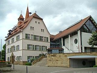 Ilsfeld Place in Baden-Württemberg, Germany
