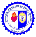 Immaculate Heart of Mary College's Official School Seal.png