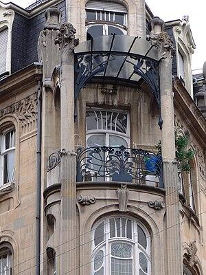 22, Rue du Général de Castelnau - Image: Immeuble 22 rue du général de Castelnau (006)