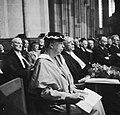 In aanwezigheid van de koninklijke familie krijgt Eleanor Roosevelt een ere-doct, Bestanddeelnr 934-6812.jpg