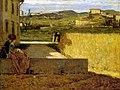 In the shadow of the villa - Silvestro Lega.jpg