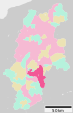 Ina in Nagano Prefecture Ja.svg