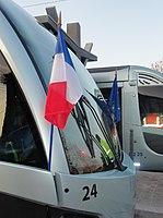 Inauguration de la branche vers Vieux-Condé de la ligne B du tramway de Valenciennes le 13 décembre 2013 (047).JPG