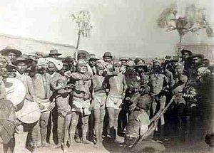 History of South Africa (1815–1910) - Indians arriving in Durban for the first time.