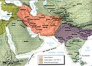 Sassanid sea trade routes