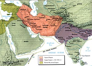 Bandar Siraf - Sea routes during the Sassanid