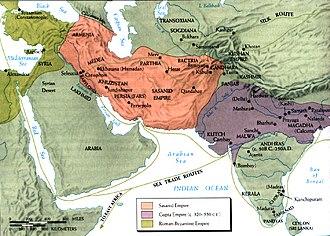 Bandar Siraf - Sea routes during the Sassanid