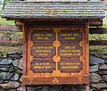 Informatiebord over kerk en begraafplaats. Locatie. Kerk van San Rocco met daaromheen de militaire begraafplaats in Peio Paese.jpg