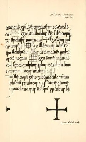 William George Searle - Title page of Ingulf, 1894