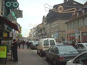 Le centre-ville en 2004 avant rénovations