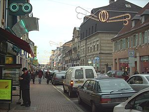 Forbach - Town centre