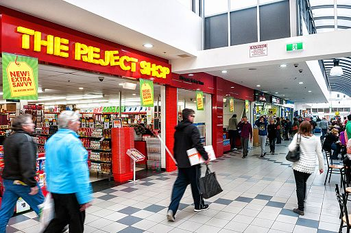 Shoppers Reject 'Reject Shop'