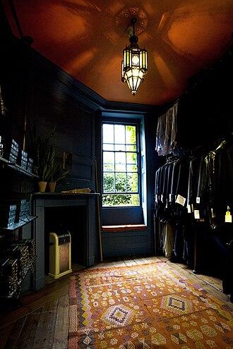 Timothy Everest - Inside Timothy Everest's Spitalfields atelier, upper floor