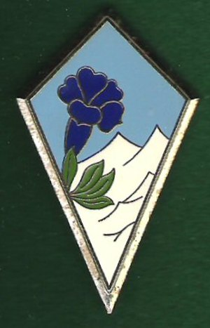 27th Mountain Infantry Brigade (France) - Badge of the 27th Mountain Infantry Brigade