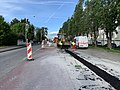 Installation de canalisations Route de Genève (Saint-Maurice-de-Beynost) en avril 2019.jpg
