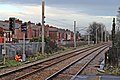 Installing a new signal, Earlestown railway station (geograph 3818770).jpg