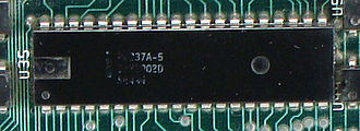 Intel 8237 - Intel 8237A-5, used on the original IBM PC motherboard.