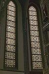 interieur koor, overzicht glas in loodramen - lith - 20334113 - rce