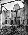 interieur van de kerk naar het noord-oosten na de brand - haastrecht - 20099491 - rce