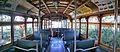 Interior of Tram 611 at Sydney Tramway Museum.jpg