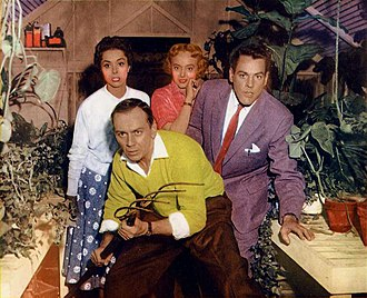King Donovan - Donovan and the cast in the 1956 film Invasion of the Body Snatchers
