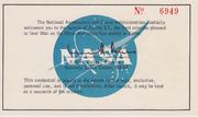Invite to Apollo 11 launch