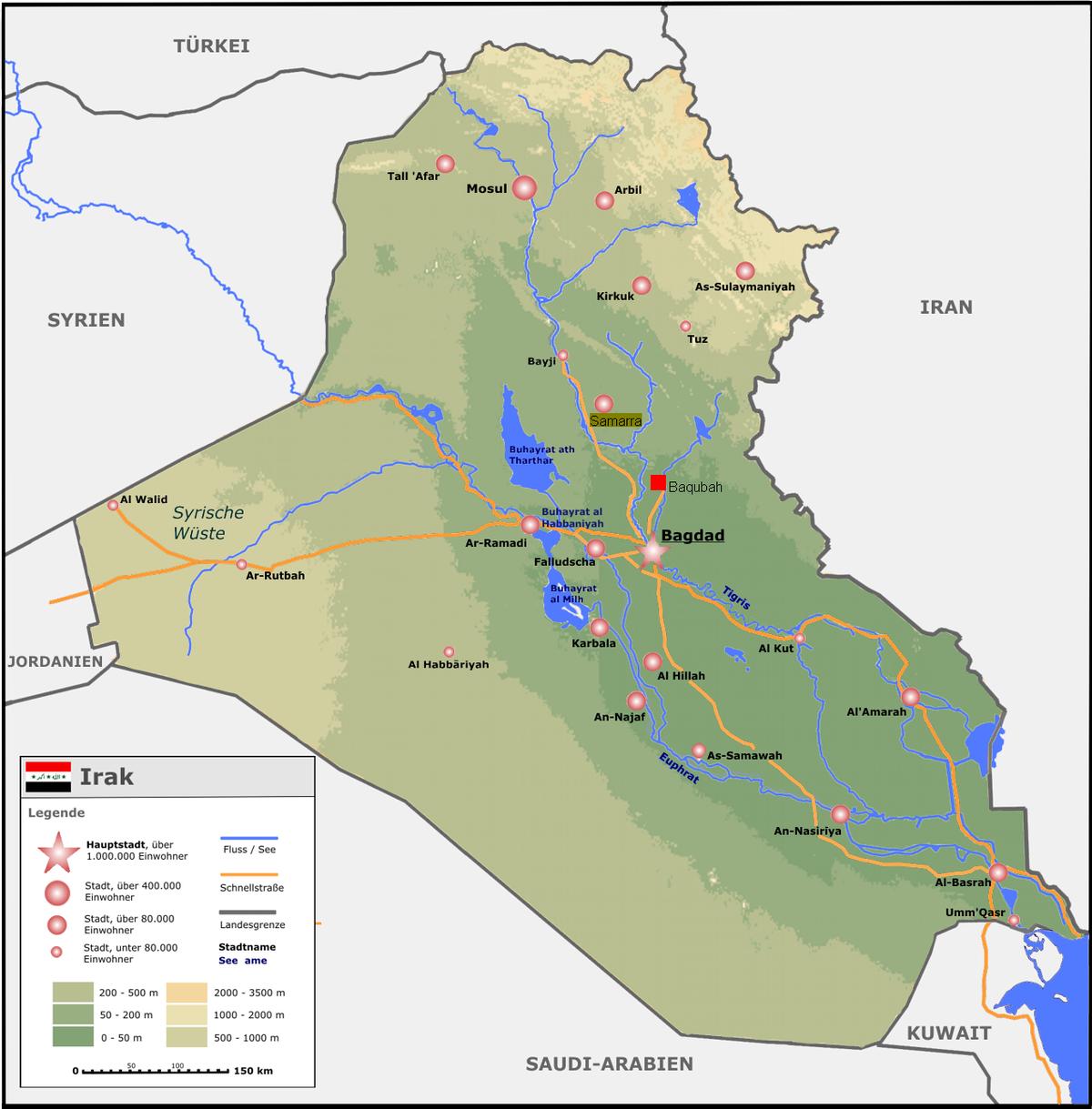 Irak 6 000 Leichen seit Anfang des Jahres gefunden – Wikinews freie Nachrichtenquelle