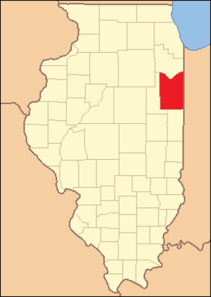Iroquois County, Illinois - Image: Iroquois County Illinois 1836