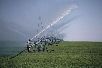 El mayor uso del riego juega un papel importante en la revoluci 243 n