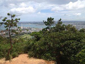 Ishikawa, Okinawa - Ishikawa City as seen from Mount Ishikawa.