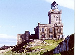 Isle of May - Robert Stevenson's lighthouse on the Isle of May.