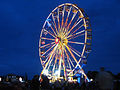 Isle of Wight Festival 2008 ferris wheel at night.jpg