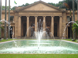 Ministry of Foreign Affairs (Brazil) - The original Itamaraty Palace in Rio de Janeiro, former headquarters and current regional office of the Ministry of Foreign Affairs of Brazil