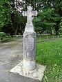 Izeste, Pyrénées Atlantiques, France, croix rue du Moulin DSC07745.jpg