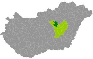 Jászapáti District Districts of Hungary in Jász-Nagykun-Szolnok