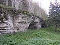Jägala limestone cliffs - panoramio - Aulo Aasmaa.jpg