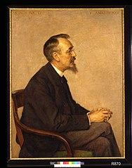 Portret van Prof. Anton Derkinderen