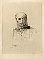 J. Eugène Bouchut. Etching by A. Lalauze. Wellcome V0000690.jpg