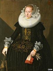 Susanna van Someren (geb.1609). Echtgenote van Jan Jewelpen-Schagen