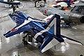 JASDF T-2(19-5173) left rear top view at in the Kakamigahara Aerospace Science Museum November 7, 2020 01.jpg