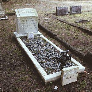 Joseph Finegan - The grave of Joseph Finegan in the Old City Cemetery of Jacksonville, Florida.