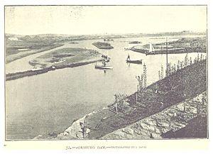 Boksburg - The Boksburg dam (1893)