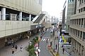 JR ebisu station- west exit - feb20-2015.jpg