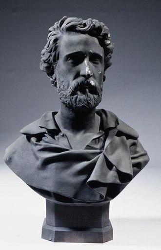 Jules Eugène Lenepveu - Jules Eugène Lenepveu: bust by Auguste Arnaud