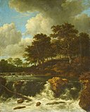 Jacob van Ruisdael - The Waterfall in front of the Wooded Slope.jpg