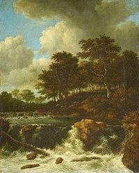 Jacob van Ruisdael - The Waterfall in front of the Wooded Slope.jpg