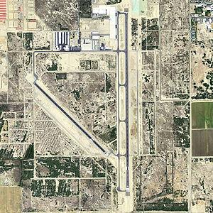 Jacqueline Cochran Regional Airport - USGS 2006 orthophoto