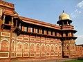 Jahangiri palace with projecting portico and Bengal slanting walls.jpg