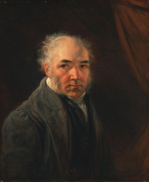 James Ward (artist) - Self portrait, 1830